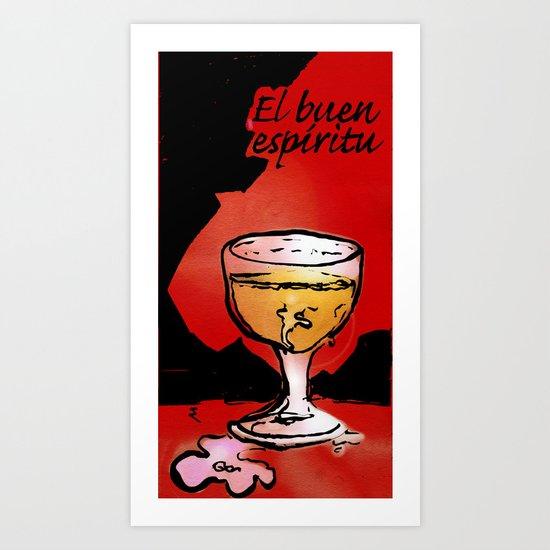 """El buen espíritu """"the good spirit"""" Art Print"""
