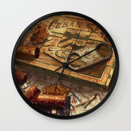 Dreaming Of Havana Wall Clock