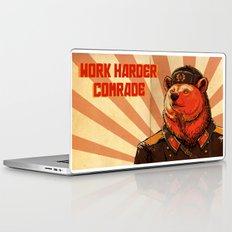 Work Harder, Comrade! Laptop & iPad Skin