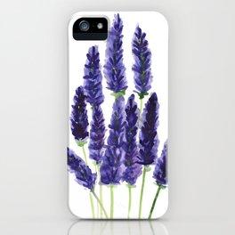 Lavender Summer iPhone Case