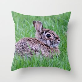 Bunny 1 Throw Pillow