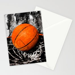 The basketball Stationery Cards