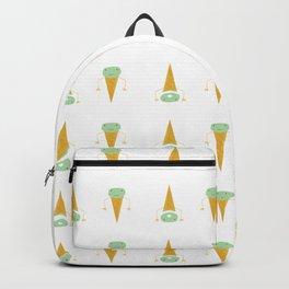 ice cream - bad idea Backpack