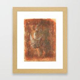 Endangered Series Rhino Framed Art Print