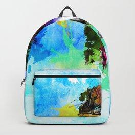 SPLASHING CASSOWARY Backpack