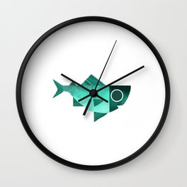 Cian fish Wall Clock