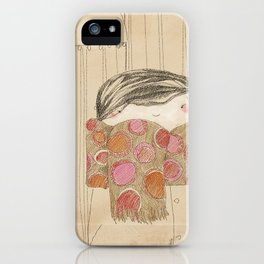 "Luisa. ""Bufandas"" Collection iPhone Case"
