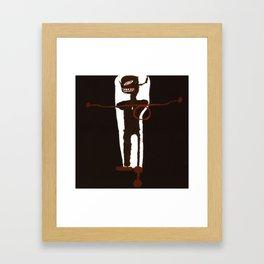 Basquiat Gri Gri Framed Art Print