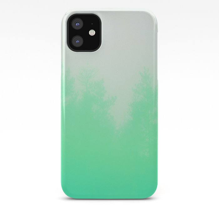 Out Of Focus Cool Green Iphone Case By Budikwan Society6