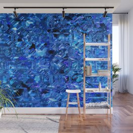 Ice Crystals Abstract Wall Mural