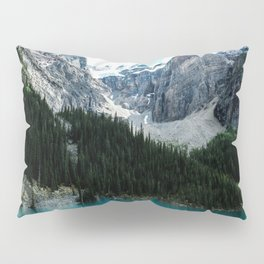 Moraine lake Wander (landscape) Pillow Sham