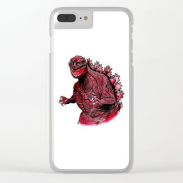 Shin Godzilla Clear iPhone Case