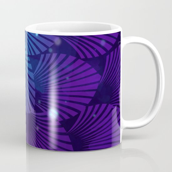 Variations on a Feather III - Raven Wing Deconstructed Mug