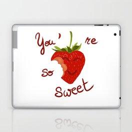 Sweet to eat / à croquer Laptop & iPad Skin