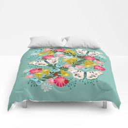 Buckeye Butterly Florals by Andrea Lauren  Comforters