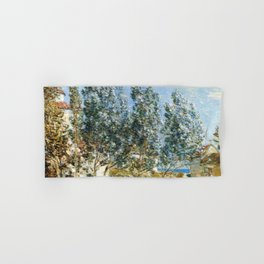 Classical Masterpiece 'The Southwest Wind'' by Frederick Childe Hassam Hand & Bath Towel