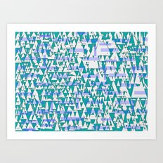 Lake Forest Day Art Print