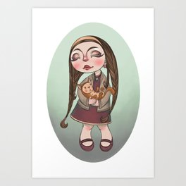 kittie Art Print
