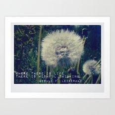Wishful Thinking Art Print