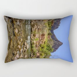 The Watchman & The Virgin 4756 - Zion National Park, Utah Rectangular Pillow