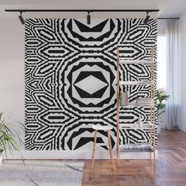 Indigenous Fractal Wall Mural