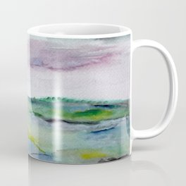 """337"" abstract watercolor landscape Coffee Mug"
