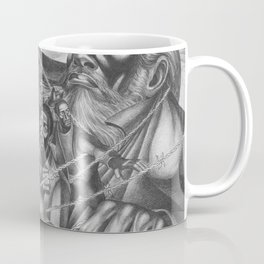 African American Masterpiece 'The Ghost of Frederick Douglas' by C. White Coffee Mug