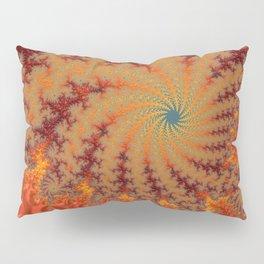 Crimson Alley - Fractal Art Pillow Sham