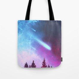 Halley's Comet Tote Bag