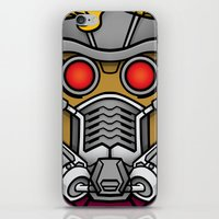 star lord iPhone & iPod Skins featuring Star Lord by Ryan the Foe