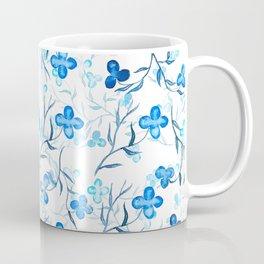 small blue flowers pattern Coffee Mug