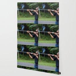 President Barack Obama Shoots Clay Targets at Camp David Wallpaper