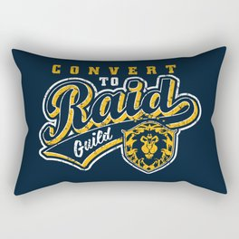 CTR Guild Vintage Logo Rectangular Pillow