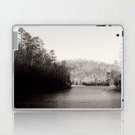 Black & White Lake Laptop & iPad Skin