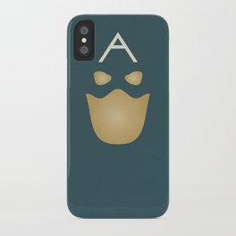 Minimalist Captain America iPhone Case