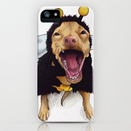 Chihuahua in bee costume - Tuna iPhone Case