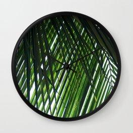 Palm in Las Palmas Wall Clock