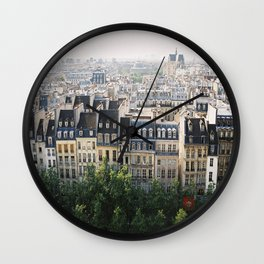 Paris landscape Wall Clock