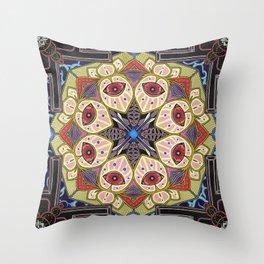 Moleculotus Mechayantradala Throw Pillow