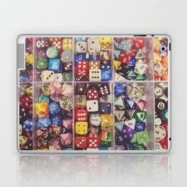 Colorful Dice Laptop & iPad Skin