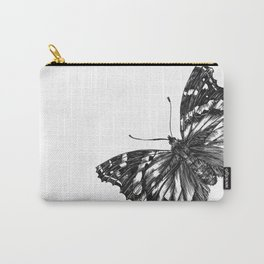 Butterfly Symmetry Carry-All Pouch