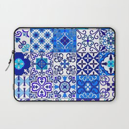 Moroccan Tile islamic pattern Laptop Sleeve