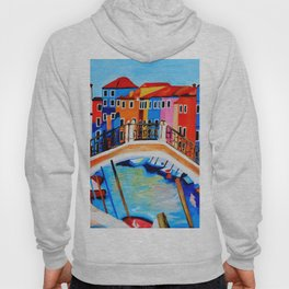 Colors of Venice Italy Hoody