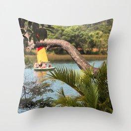Tropical Style Throw Pillow
