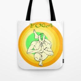 Yoga: asana Tote Bag