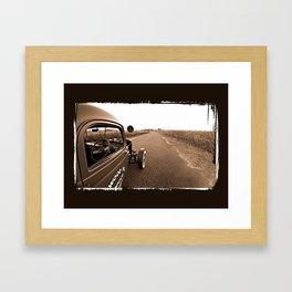 1942 Chevy Rat Rod Framed Art Print