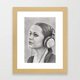 Musical Escapism Framed Art Print