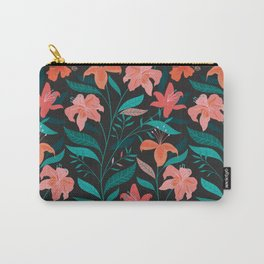 Flame Flowers Carry-All Pouch