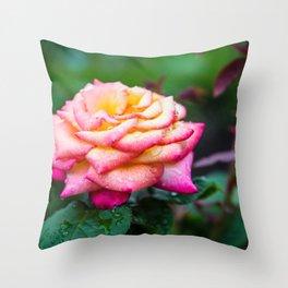 Rose, Columbus Ohio Throw Pillow