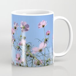 Pink Lavender Pastel Flowers Coffee Mug